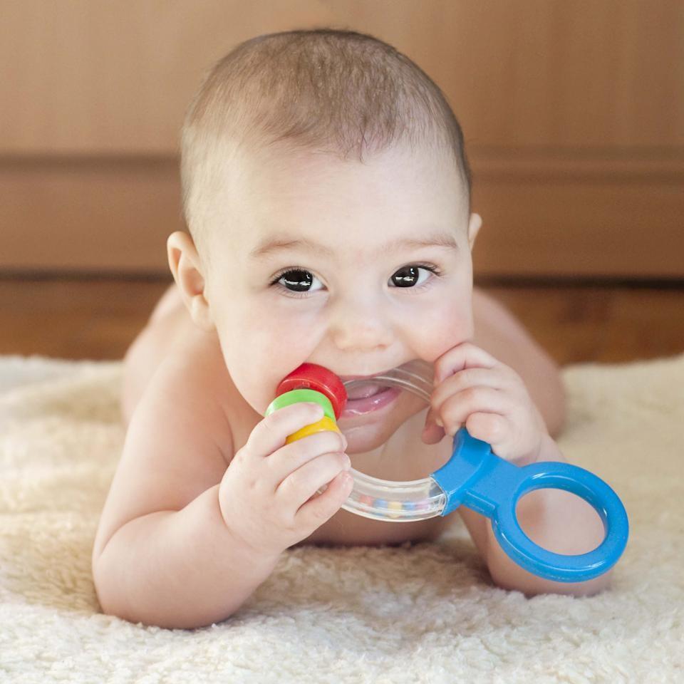 دندان درآوردن نوزادان
